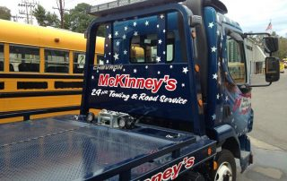 McKinney's Towing truck